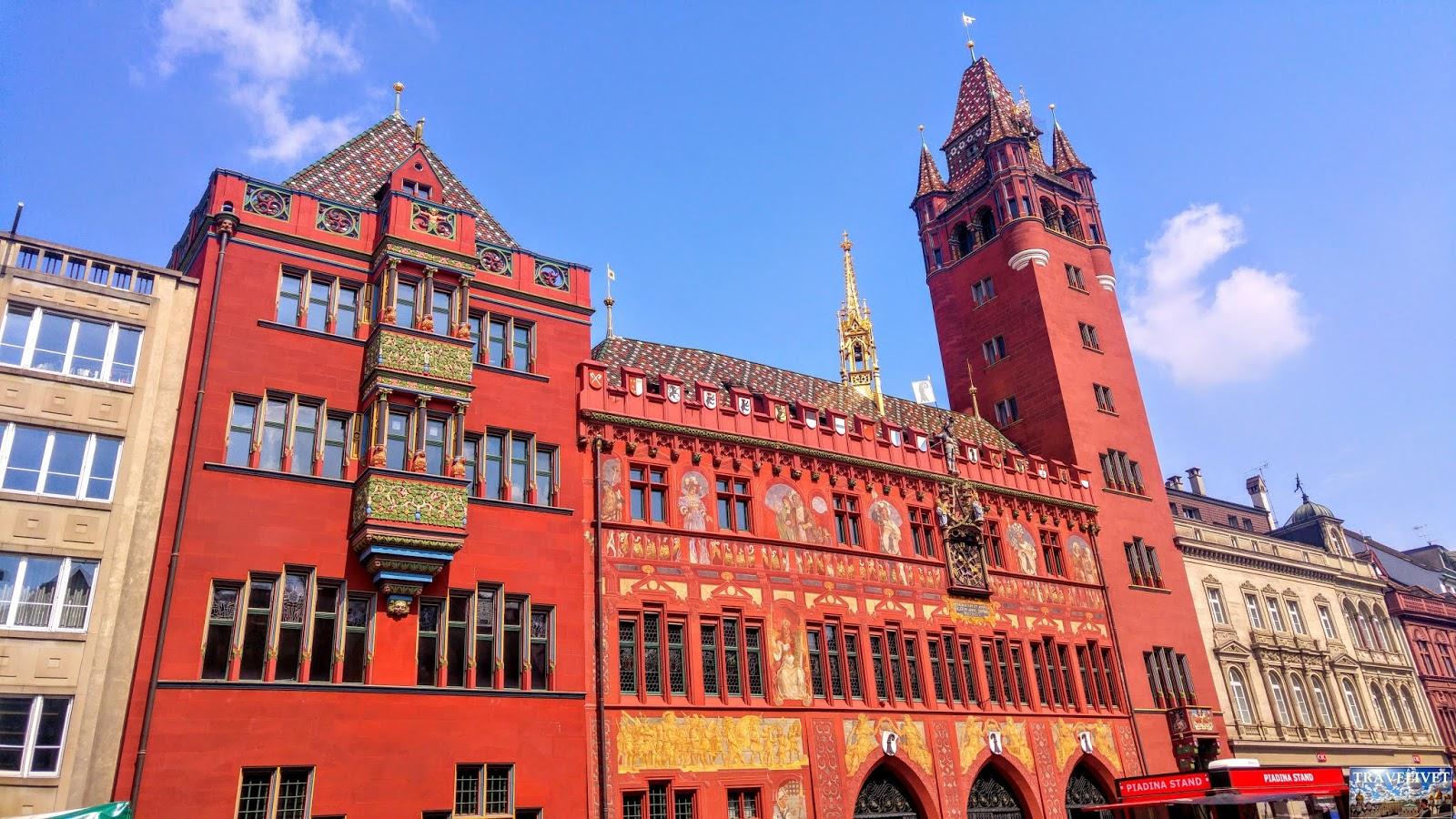Bâle Basel Suisse hôtel de ville