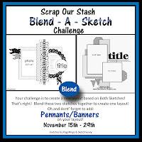 November 2018 Blend A Sketch Challenge