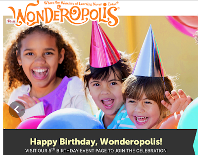 Wonderopolis Website for news articles