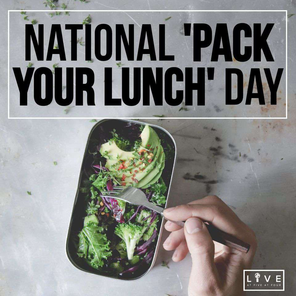National Pack Your Lunch Day Wishes Images download