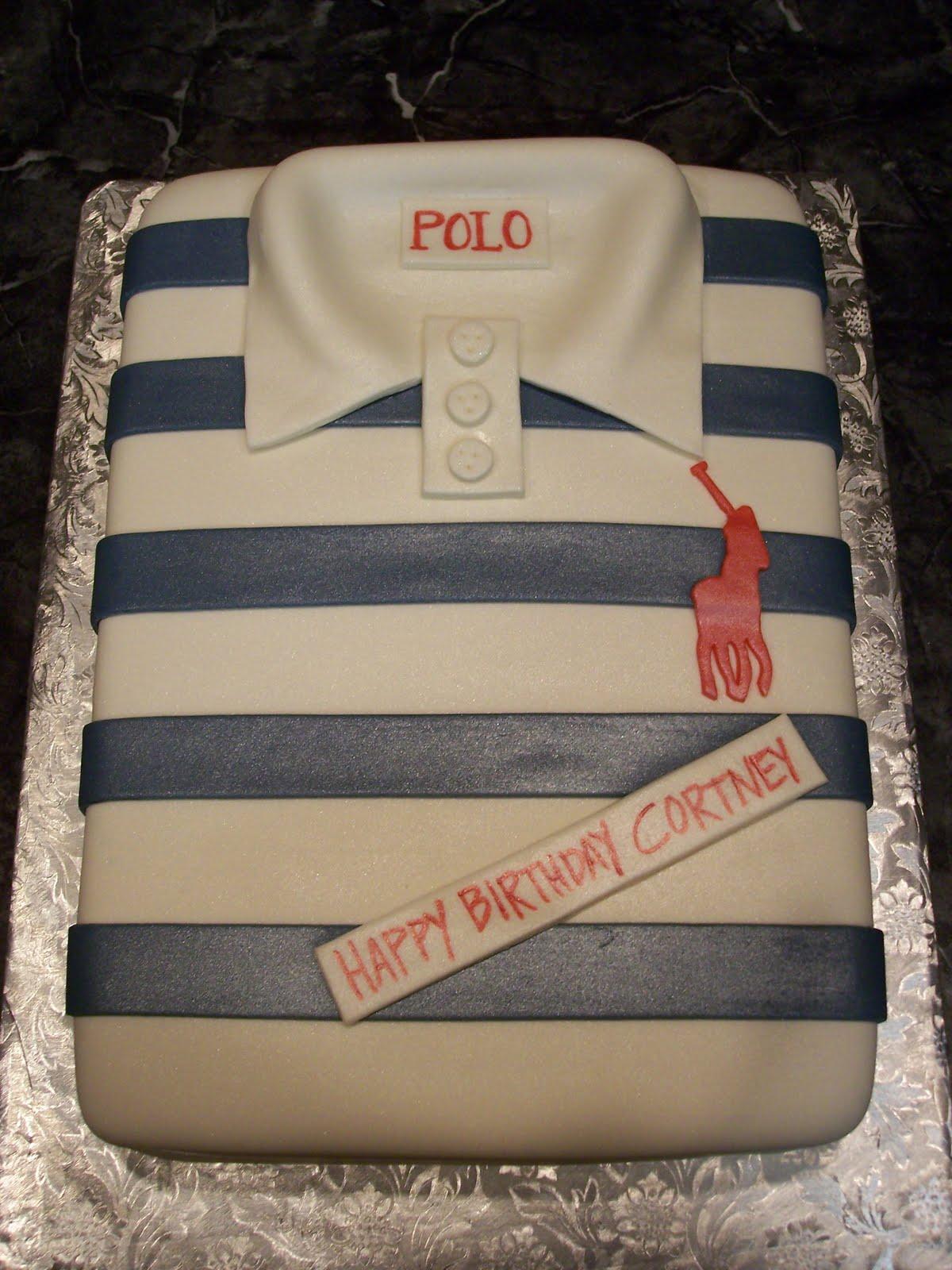 Mymonicakes Polo Shirt Cake