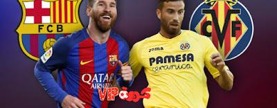 موعد مباراة برشلونة وفياريال