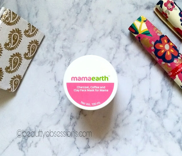 Mamaearth C3 Face Mask to Reduce Pigmentation - Review
