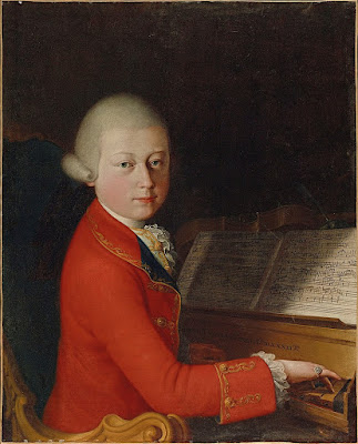 Mozart in January 1770 (School of Verona, attributed to Giambettino Cignaroli )