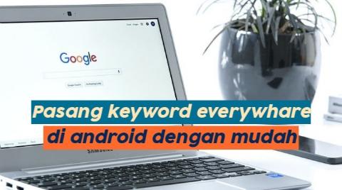 Cara memasang keyword everywhere