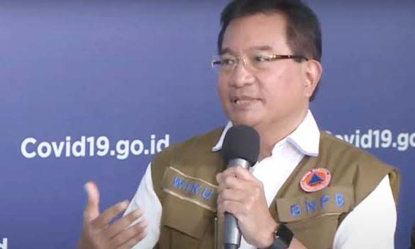 Koordinasi Tim Pakar dan Juru Bicara Satgas Penanganan Covid-19 Prof Wiku Adisasmito