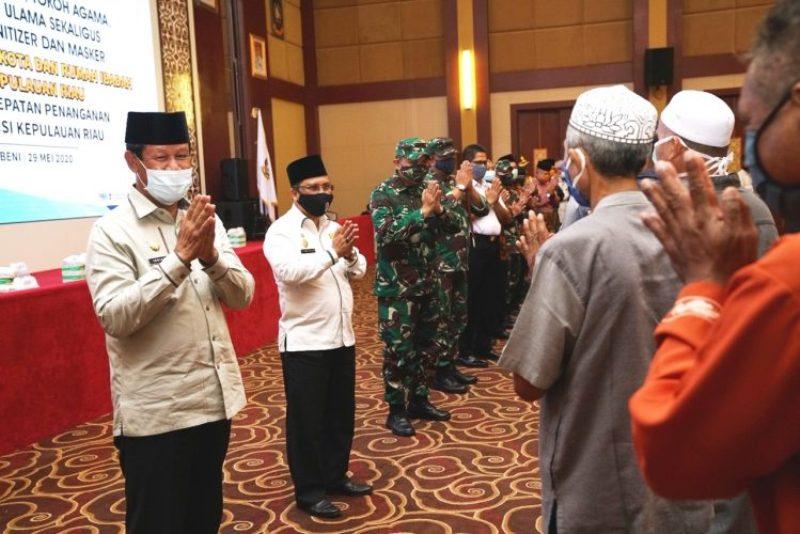 Isdianto Ajak Semua Bersatu Sukseskan Pelaksanaan Fase New Normal