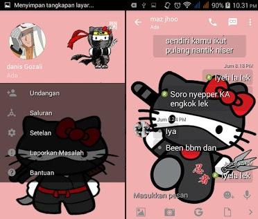 BBM Mod Hello Kitty Versi 2.13.1.14 2016