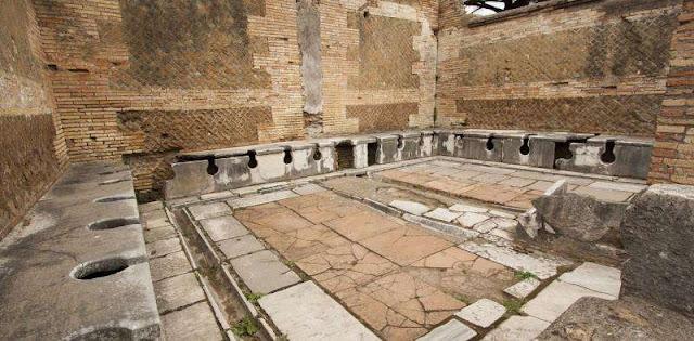 ancient toilets