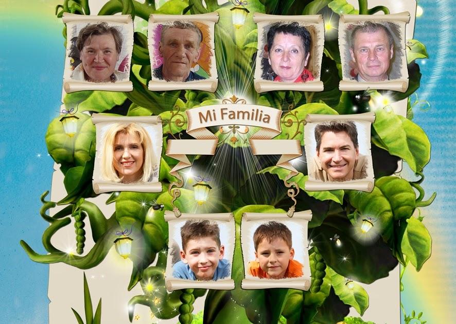 Recursos Photoshop Llanpac: Arbol Genealogico para fotomontajes (Psd)
