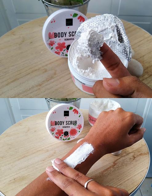 Tekstur Scarlett Body Scrub
