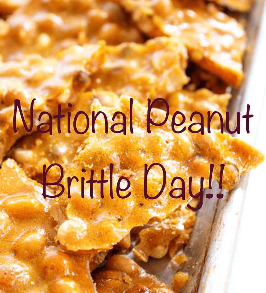 National Peanut Brittle Day Wishes Unique Image