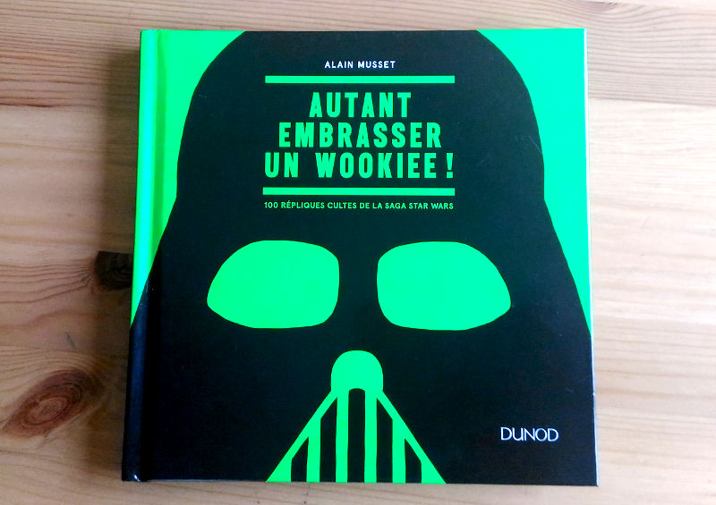 Star Wars - Autanty embrasser un wookie