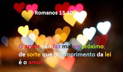 O amor é a lei de Deus
