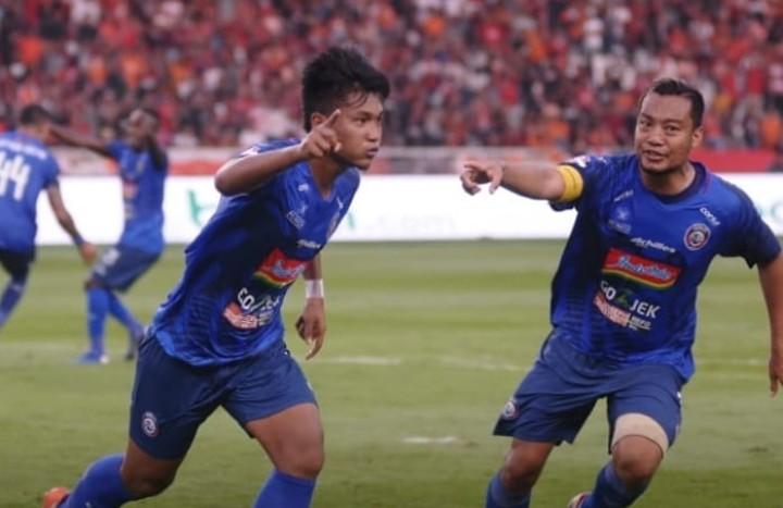 Arema FC Curi Poin di Kandang Persija