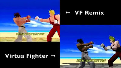 virtua fighter remix sega saturn