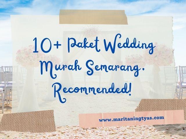 paket wedding murah semarang
