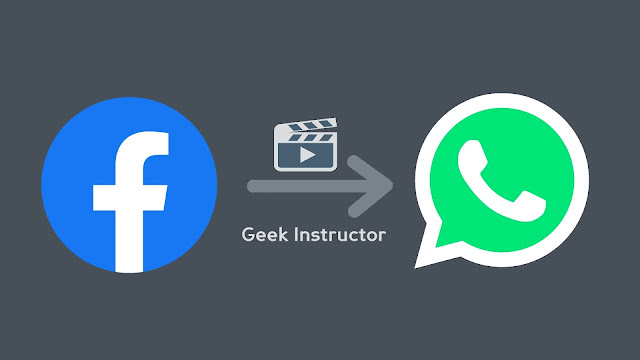 Share Facebook videos on WhatsApp