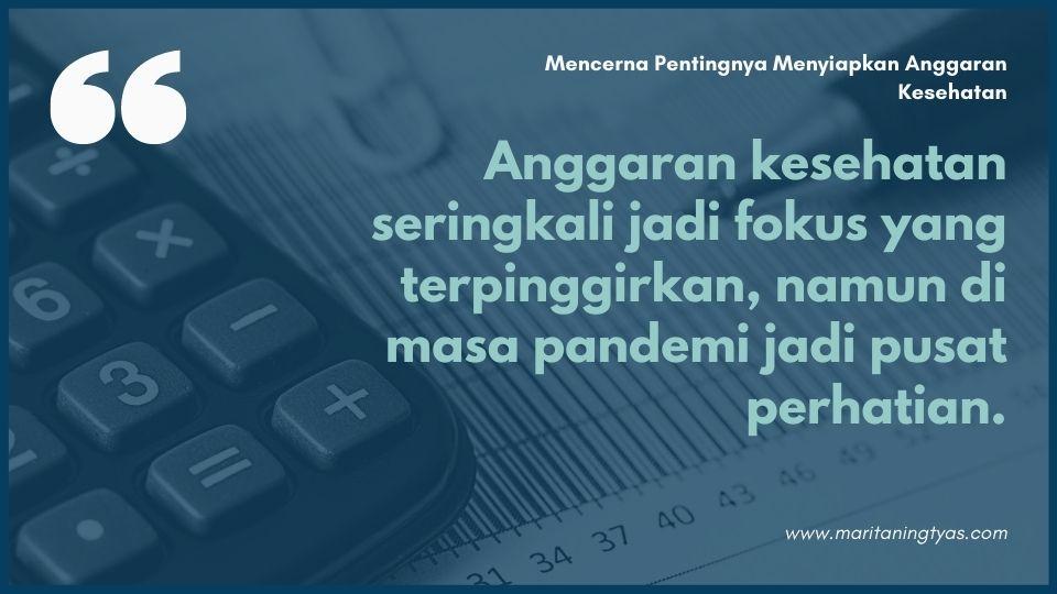 quote anggaran kesehatan by maritaningtyas