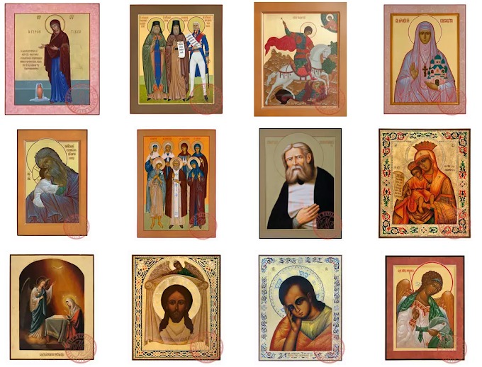 Canonical Art Of the Russian Orthodox Church Online