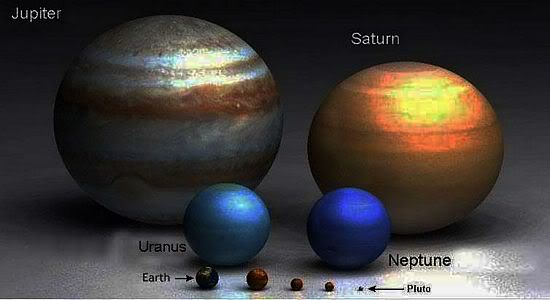 neptune compared to other planets - photo #4