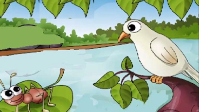 THE DOVE AND BEE STORY IN HINDI