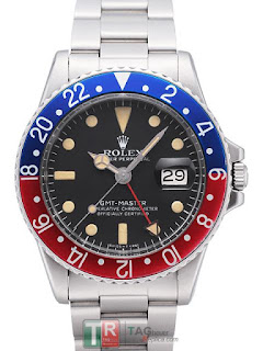 Replica Rolex GMT-Master Pepsi 1675 Vintage Watch