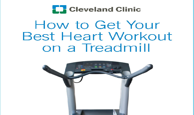 How to Get Your Best Heart Workout on a Treadmill #infographic