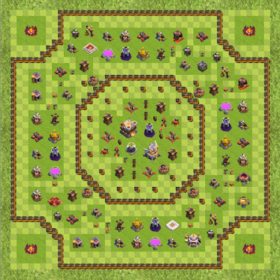 War Base Town Hall Level 11 By Shawon Khan (111 TH 11 Layout)