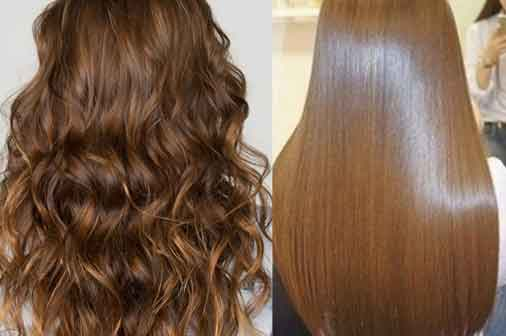 How To Get Hair Straightening At Home ~ Easy Ways To Get A Permanent Hair Straightening At Home