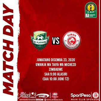 FC PLATINUM VS SIMBA SC (LIVE)