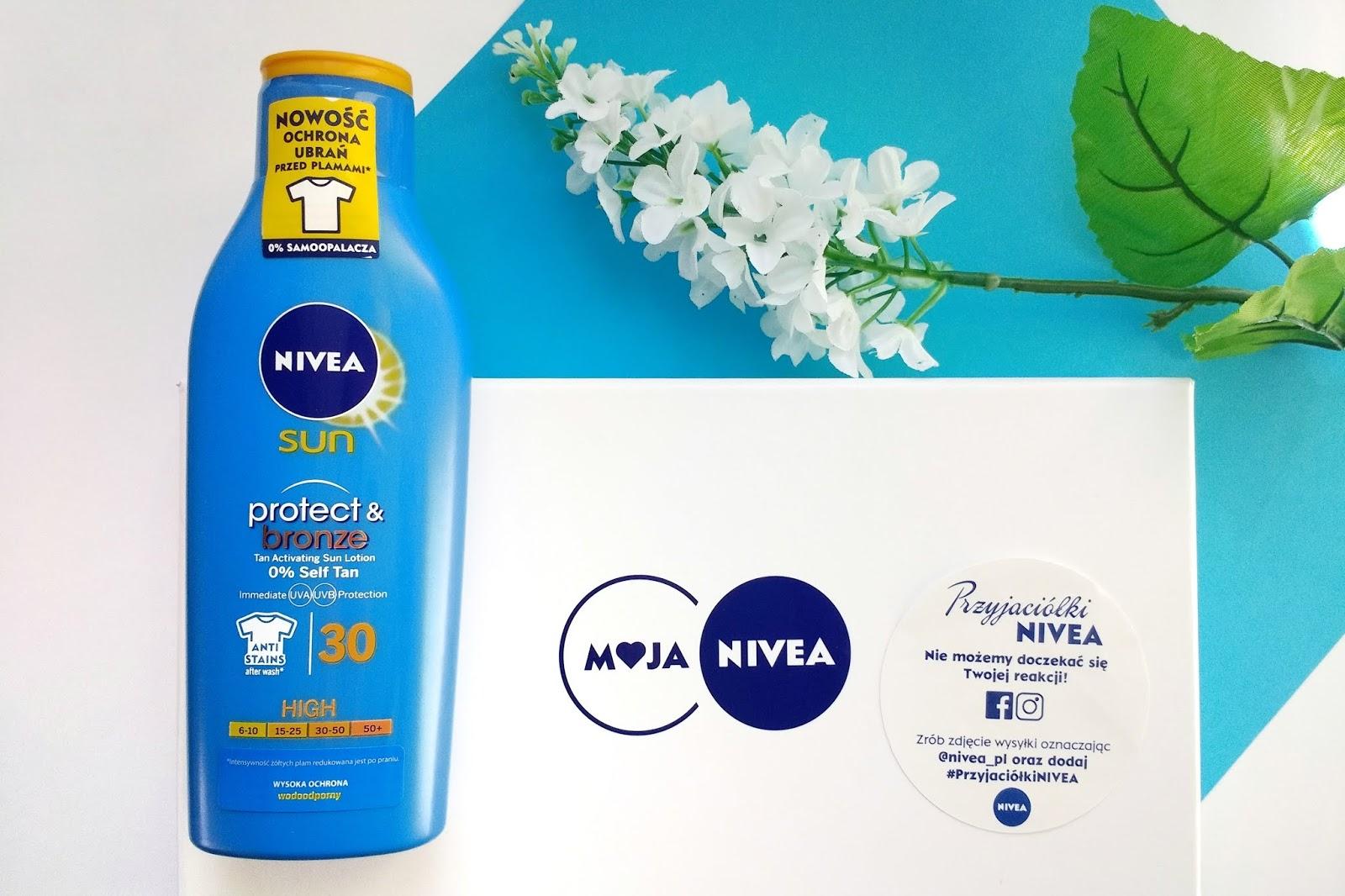 Czy balsam aktywujący opaleniznę Nivea sun protect & bronze pomoże bladziochowi się opalić?