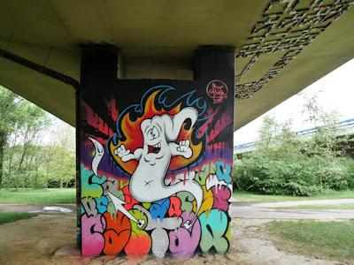 Graffiti Castar Neerpede