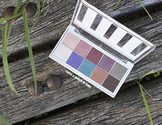 Deborah Milano - Colección de Verano Italian Fashion - paleta de sombras de ojos 02 cool spring
