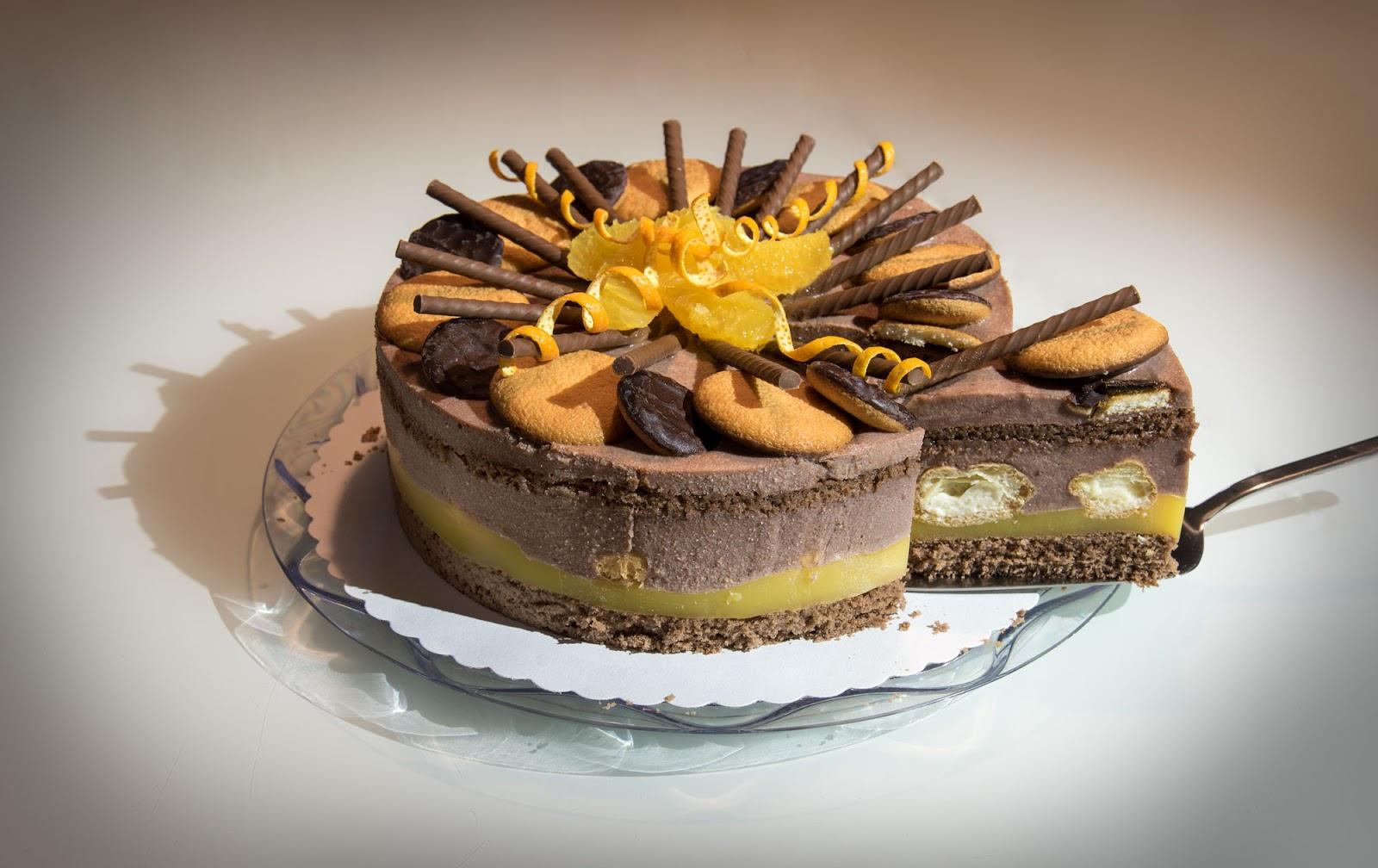 Diese Solche Und Andere Rezepte Schoko Orangen Torte Mit Mini