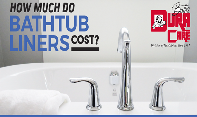 How Much Do Bathtub Liners Cost #infographic
