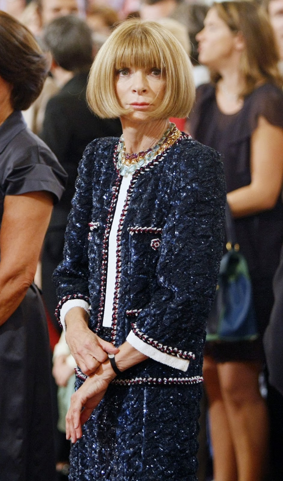 Anna Wintour Banned Ariana Grande From Wearing Ponytail: IULICHKA: Anna Wintour