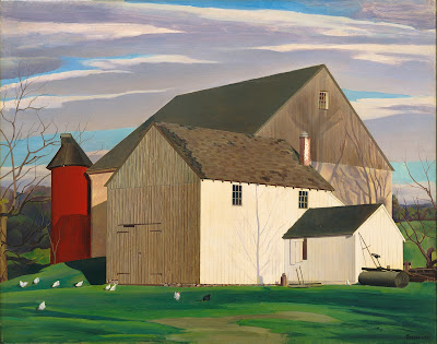Charles Sheeler - Bucks County Barn,1932.