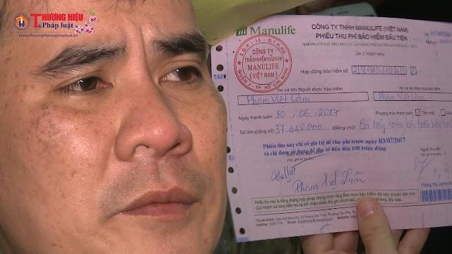 Manulife Việt Nam từ chối chi trả bảo hiểm, hủy hợp đồng với khách hàng không lí do