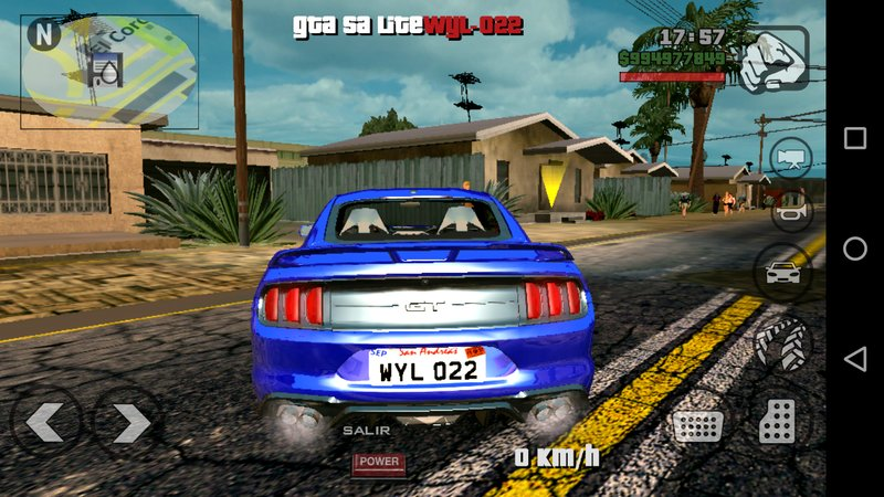 Download mod carro Ford Mustang 2018 DFF - GTA SA Android