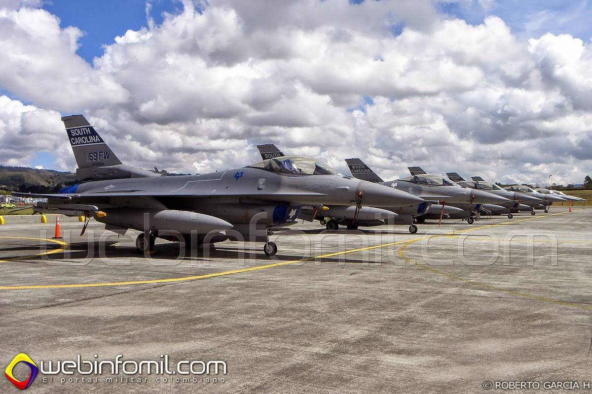 16 Colombia  F 16 Colombie