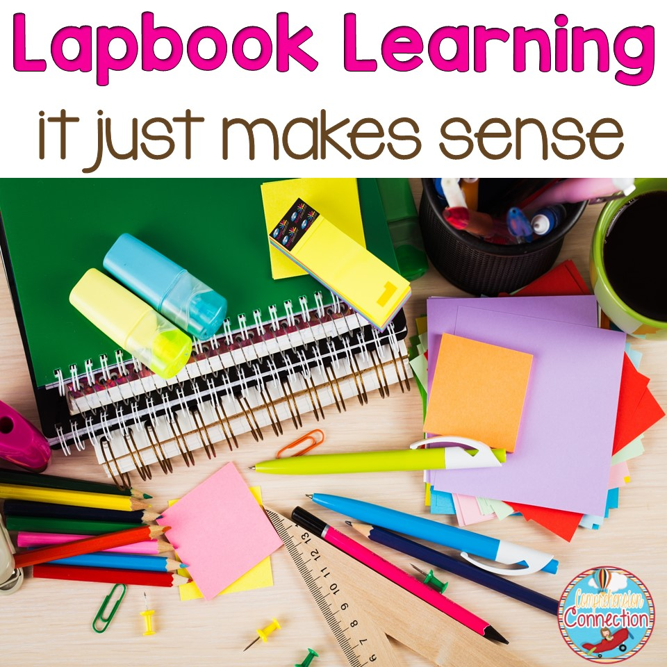 Have you been looking project ideas for your students? Well look no further. This post shares how lapbook learning just makes sense!