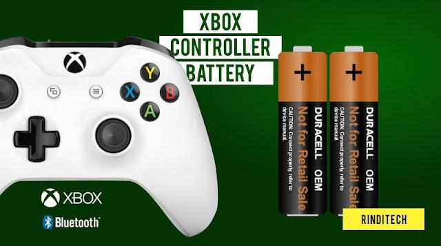Baterai Bawaan XBOX Controller Kuat Berapa Lama?