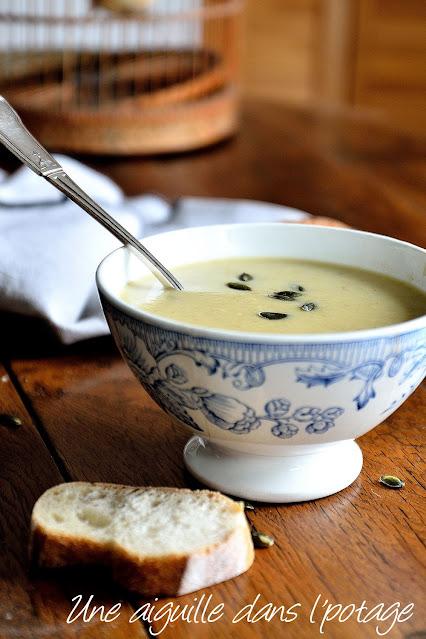 soupe-pâtisson-poireau-courge