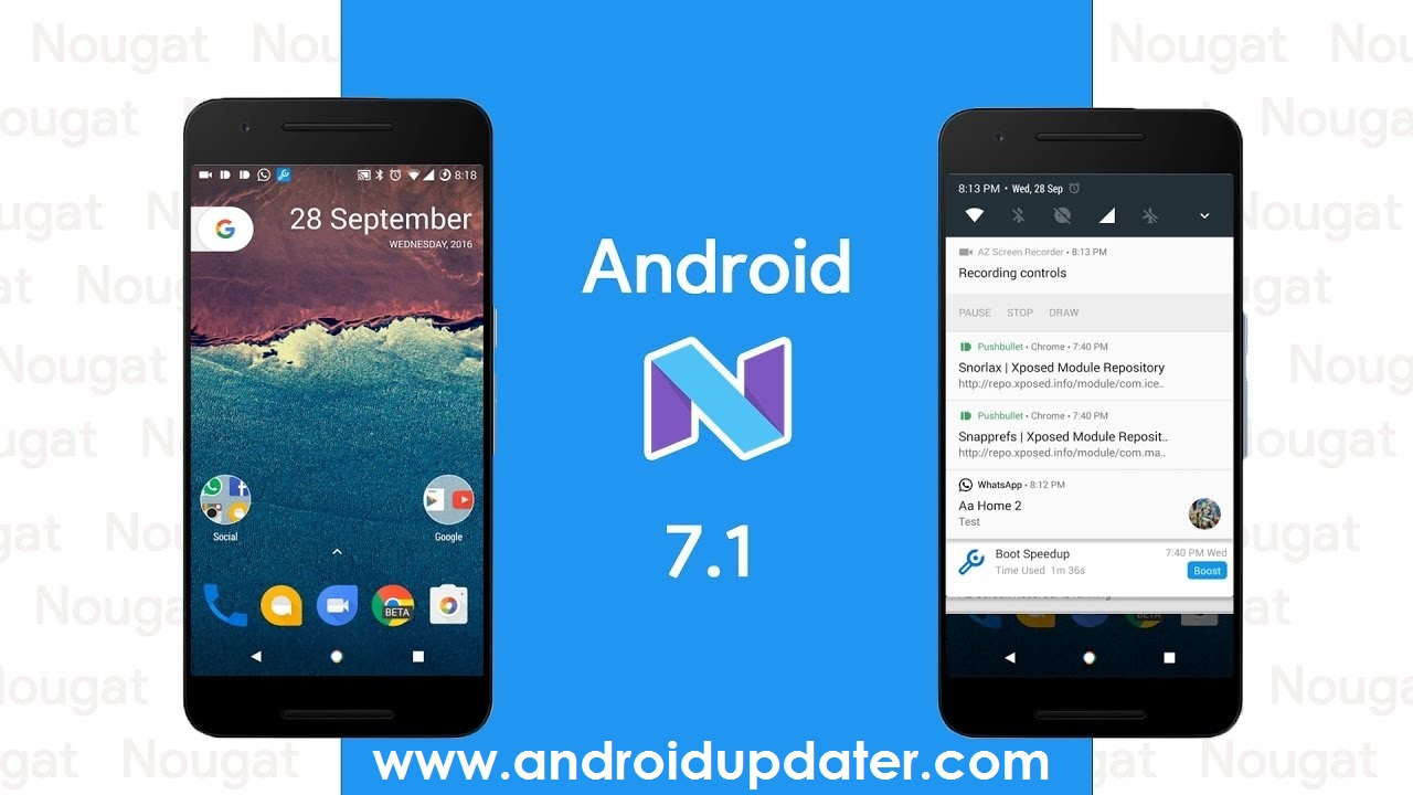 Phone Latest Android Phone Version android 7 1 nougat changelog everything you want to know in the latest version
