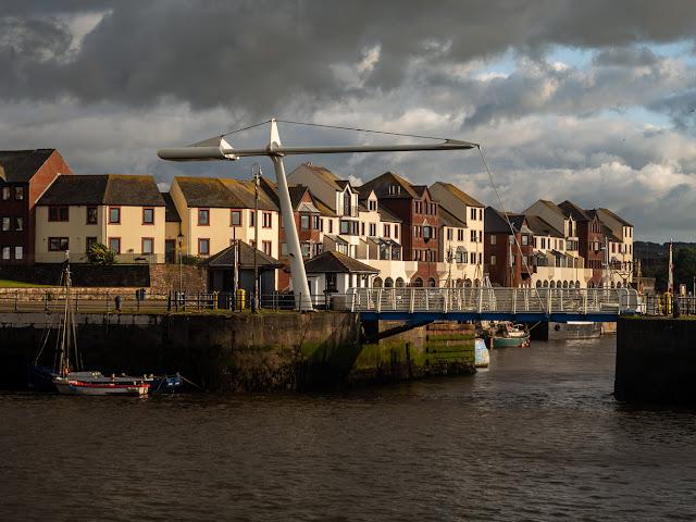 Photo of Ellenfoot Bridge at Maryport harbour