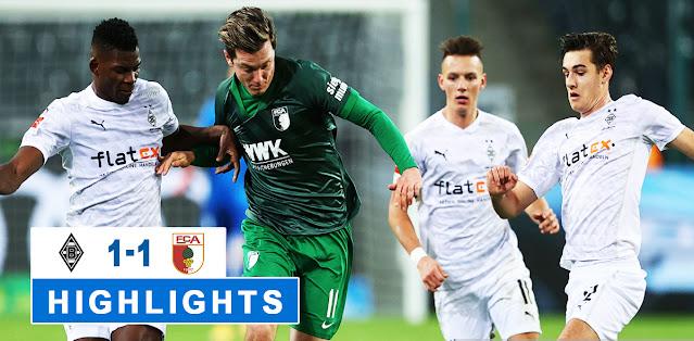 Borussia M'gladbach vs Augsburg – Highlights