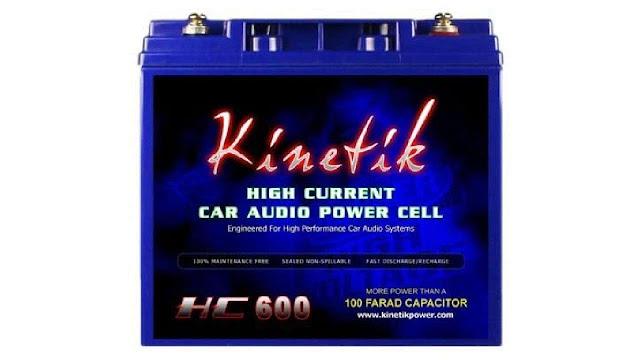Kinetik HC600 Black Lead Acid Battery