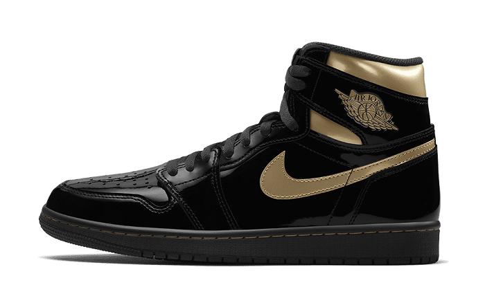 Air Jordan Black Metallic Gold