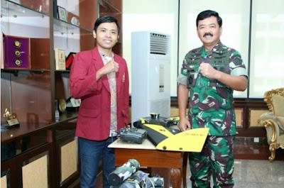 Membuat Kapal Selam Tanpa Awak, Mahasiswa UMM Diundang Panglima TNI
